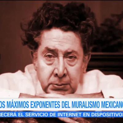 Efeméride En Una Hora: A 121 años del nacimiento de David Alfaro Siqueiros