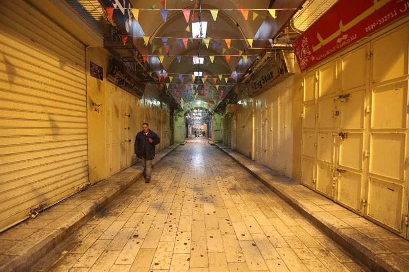 realizan huelga general palestina decision trump jerusalen