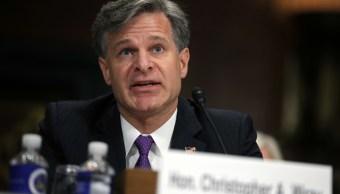 Christopher Wray: 'No hay institución mejor en EU que el FBI'