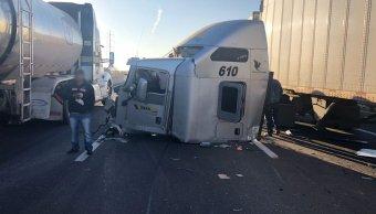Accidente en Puebla causa cierre parcial