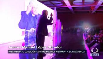 Amlo Promete Desterrar Corrupción Andrés Manuel López Obrador