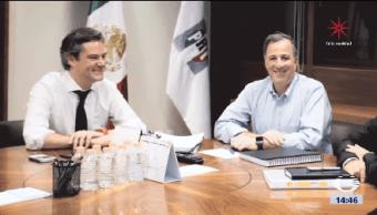 Antonio Meade Reúne Aurelio Nuño