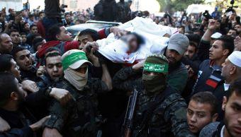 Hamas asegura que ataque israelí mató a dos de sus miembros