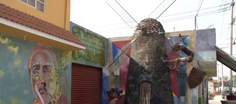 Artistas de diferentes países pintan más de 160 murales