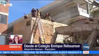 Autoridades Demuelen Colegio Rébsamen Capitalinas
