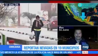 Autoridades Piden Precaución Bajas Temperaturas Chihuahua