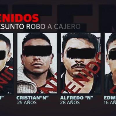 Cae banda de roba cajeros automáticos en el Estado de México