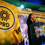 Alejandra Barrales renuncia a presidencia del PRD y la asume Manuel Granados