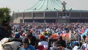 se esperan siete millones peregrinos basilica guadalupe