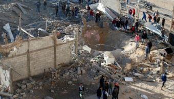 bombardeos ejercito israeli gaza dejan menos dos muertos