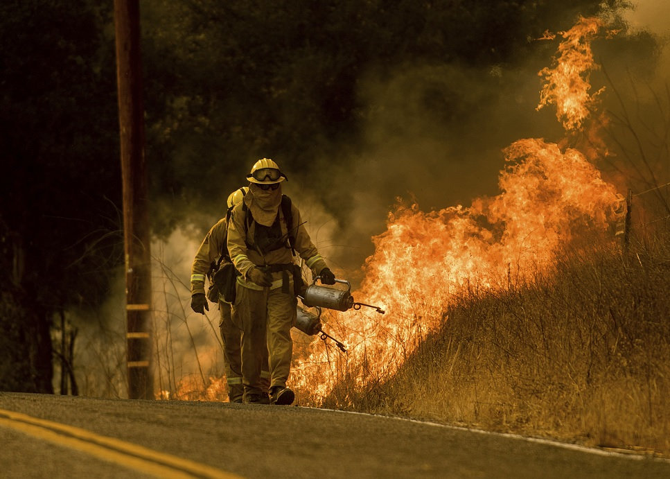 California, EE.UU., registra tercer incendio más fuerte