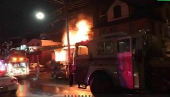 cuatro muertos deja un incendio en nueva york
