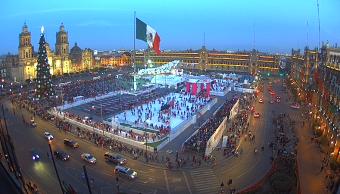 Amanece la Ciudad de México con 3 grados; seguirán las heladas
