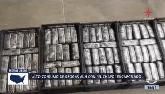 Captura El Chapo Disminuyó Consumo Drogas
