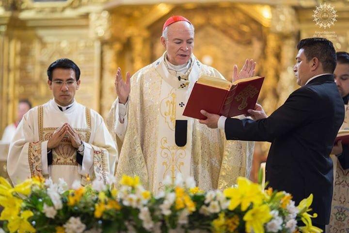 Carlos Aguiar toma posesión como nuevo arzobispo primado de México