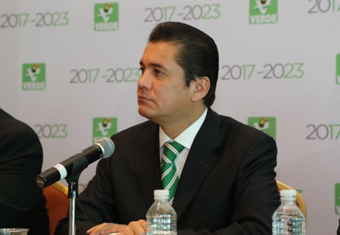 Carlos Puente electo como dirigente nacional del PVEM