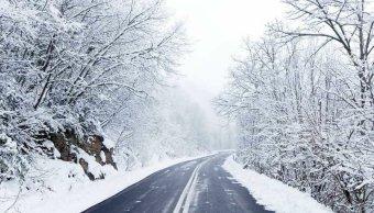 segunda tormenta invernal cubre nieve sierra santiago nl