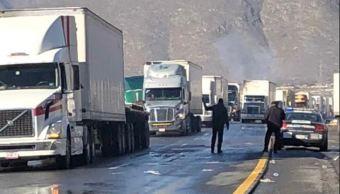 Reabren carretera 57 de Coahuila tras cerrar por tormenta invernal