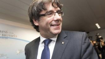 El expresidente de Cataluña Carles Puigdemont
