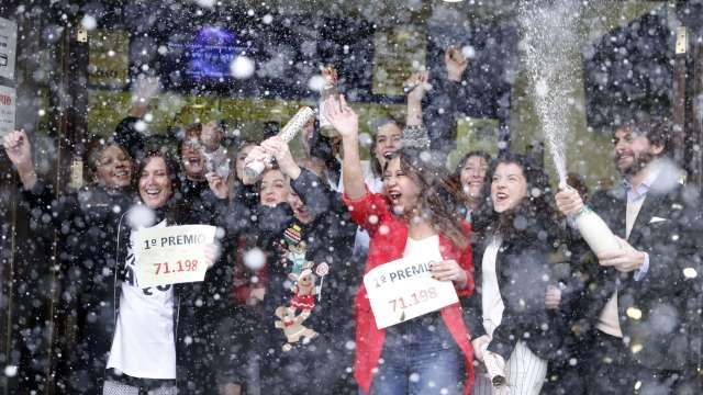 Número 71.198, premiado con el Gordo de la lotería española de Navidad