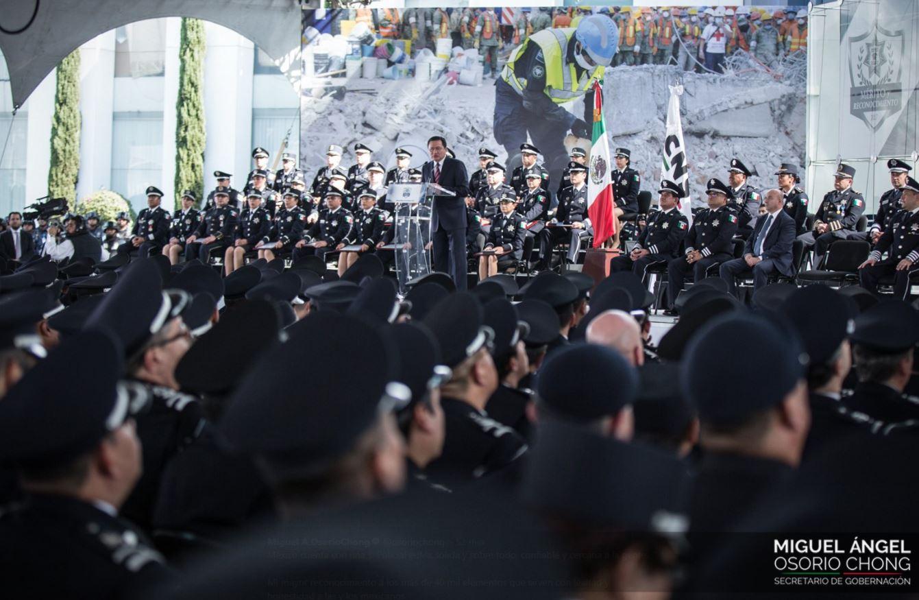 Policía Federal logra su consolidación — Osorio Chong