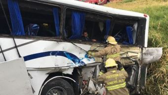camion pasajeros ferrocarril choca municipio salto