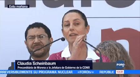 Claudia Scheinbaum Arranca Precampaña Electoral Delegación Tlalpan