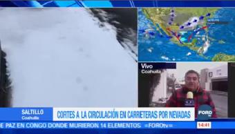 Coahuila Registra Temperaturas Hasta Menos 8 Grados