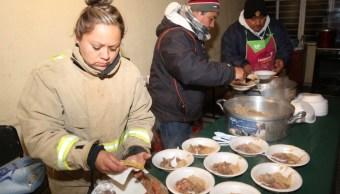 Habilitan 42 refugios en municipios de Coahuila por gélidas temperaturas