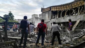 Investigan derrumbe que dejo dos muertos y 13 heridos campeche