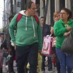 Capitalinos realizan compras de último momento en vísperas de Navidad
