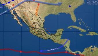 Las bajas temperaturas seguirán este lunes en México