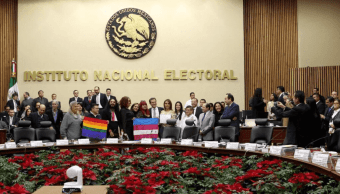 INE aprueba voto personas transgénero elecciones