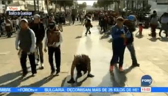 Continúa Arribo Peregrinos Basílica Guadalupe