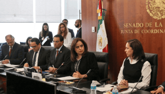 Senadores debaten por meses Ley de Seguridad Interior, Cristina Díaz