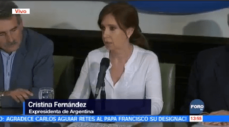 Cristina Fernández Responde Orden Prisión Preventiva Contra
