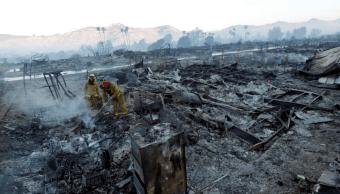 Trump declara el estado de emergencia en California por incendios