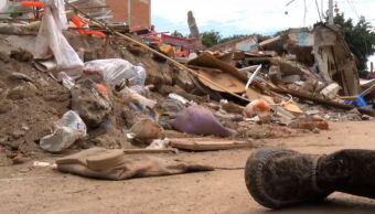 devastación en oaxaca tras sismos de septiembre