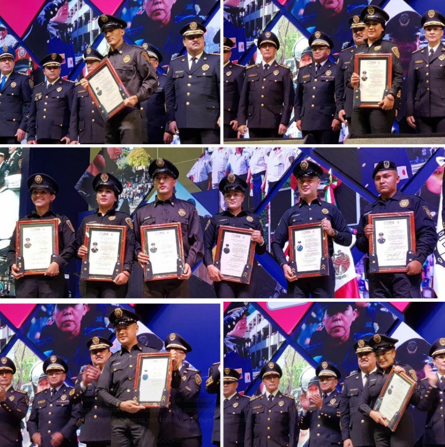 Conmemoran Día del Policía en la CDMX