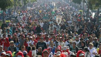GAM aplica operativo 'Amigo Peregrino 2017' en la Basílica de Guadalupe