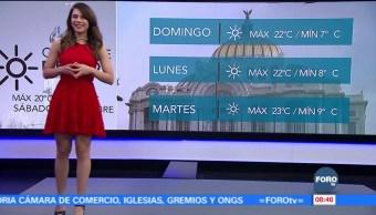 Clima Sábados Foro Ana Karina Sáenz