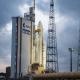 El cohete Ariane 5 con cuatro satélites a bordo