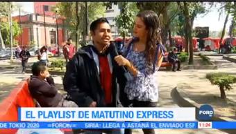 Playlist Matutino Express Ximena Cervantes