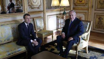 Hay que dar tiempo a mediación de EU en Medio Oriente: Macron