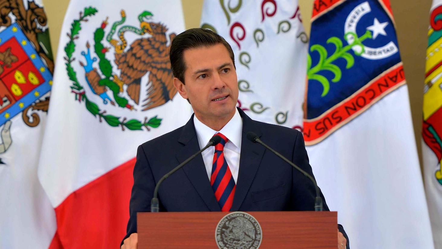 Peña Nieto pide a gobernadores elecciones limpias en 2018
