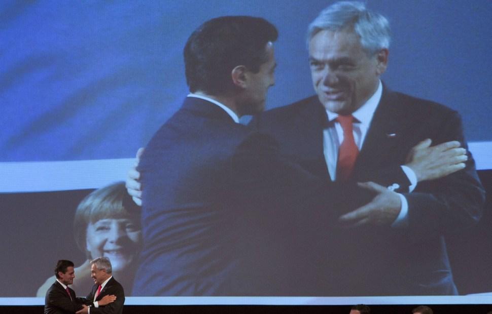 pena nieto felicita sebastian pinera presidente electo chile