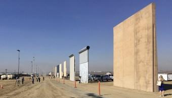 Estados Unidos inicia evaluaciones prototipos muro Trump