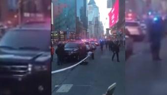 reportan explosion cerca de times square
