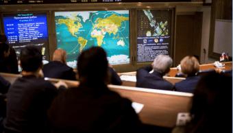 Astronautas de EU, Japón y Rusia llegan a la EEI