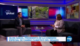 Genaro Lozano entrevista a Silvia Garza